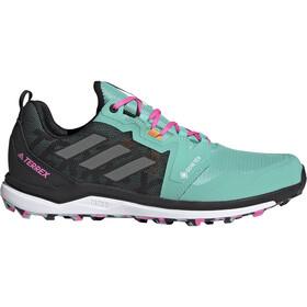 adidas TERREX Agravic GTX Trail Running Shoes Men, turquoise/zwart